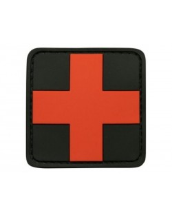 Patch 3D croix medicale 50mm