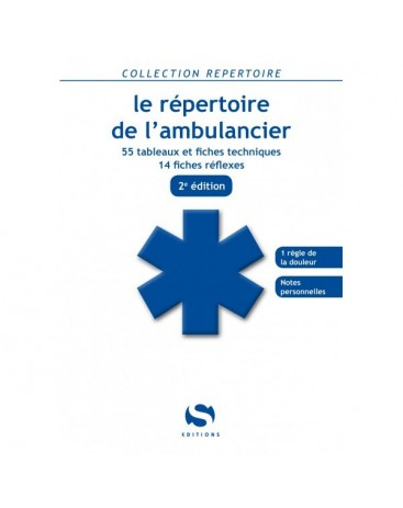 REPERTOIRE AMBULANCIER